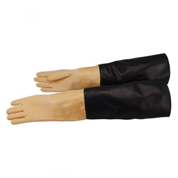 Super-Pro Abrasive Sandblasting Cabinet Gloves