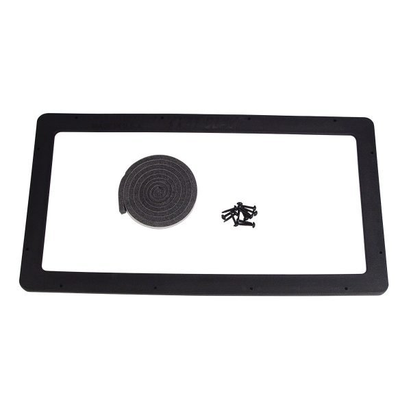 "Standard 12"" x 24"" Abrasive Sandblasting Cabinet Lens Frame"
