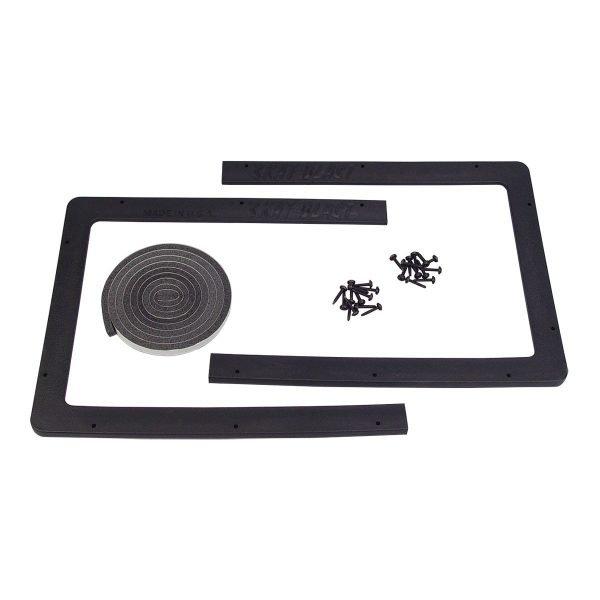 "Medium 12"" x 33"" Abrasive Sandblasting Cabinet Lens Frame"