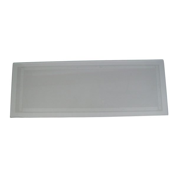 "Medium 12"" x 33"" Tempered Glass Abrasive Sandblasting Cabinet Lens"