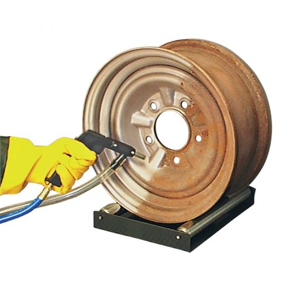 Skat Blast Abrasive Sandblasting Cabinet Rim Roller