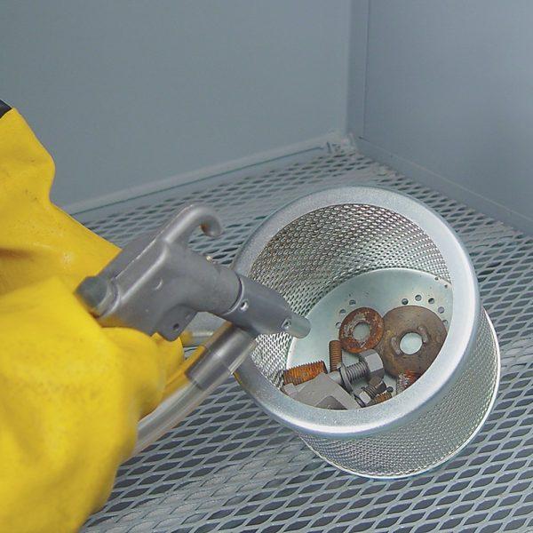 Skat Blast Abrasive Sandblasting Cabinet Bolt Basket