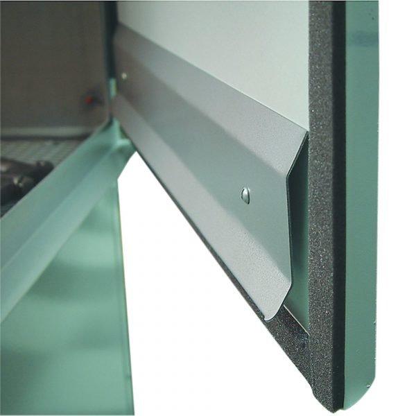 """25"""" Wide Skat Blast Door Deflector Closeup"""