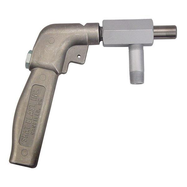 High-Volume Abrasive Sandblasting Cabinet Foot-Pedal Gun