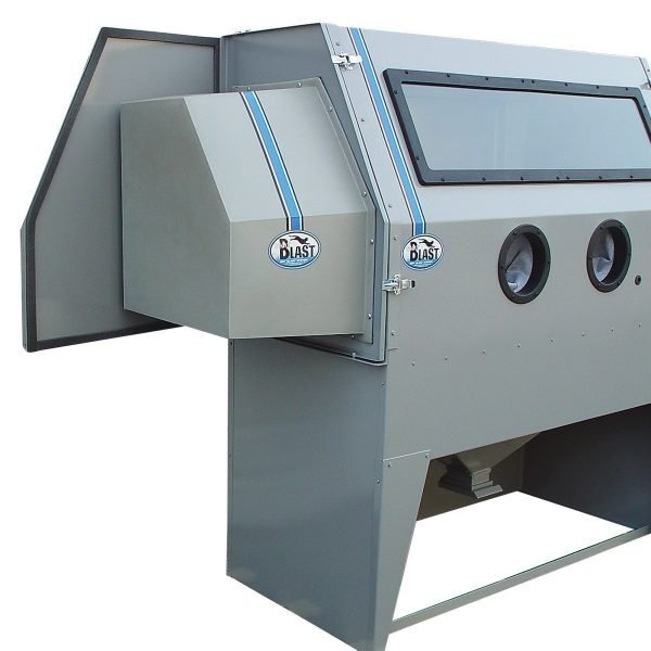 966 and 976 Quick Change Abrasive Blast Cabinet Extension