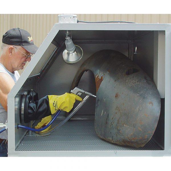 Skat Blast 979 Abrasive Sandblasting Cabinet Blasting Pic