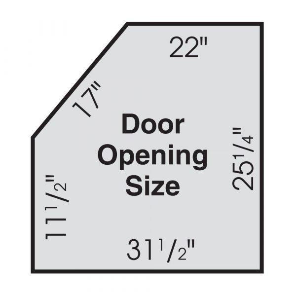 Skat Blast Abrasive Sandblasting Cabinet Door Opening Size