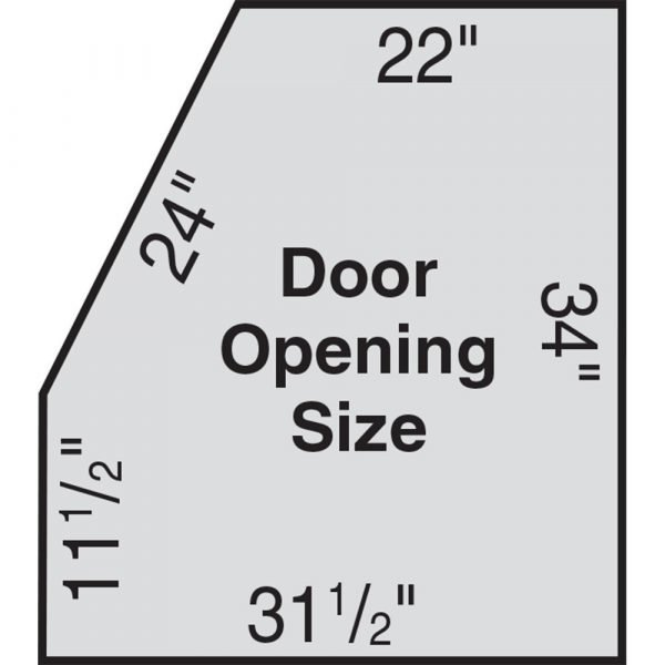 USA 1936 Double Duty Abrasive Blasting Cabinet Dimensions