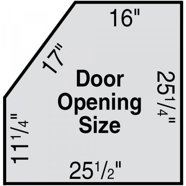 Skat Cat SC-58 Door Opening Dimensions